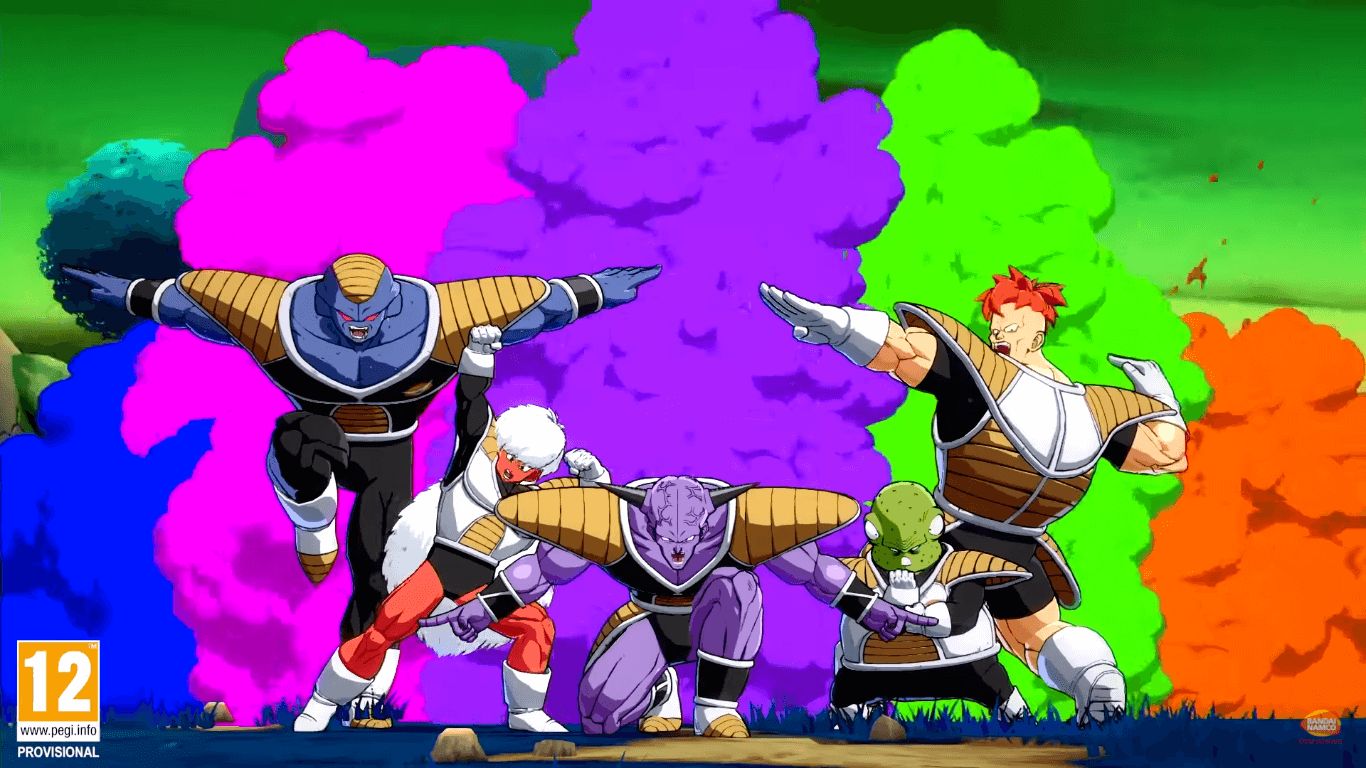 dragonball fighterz ginyu