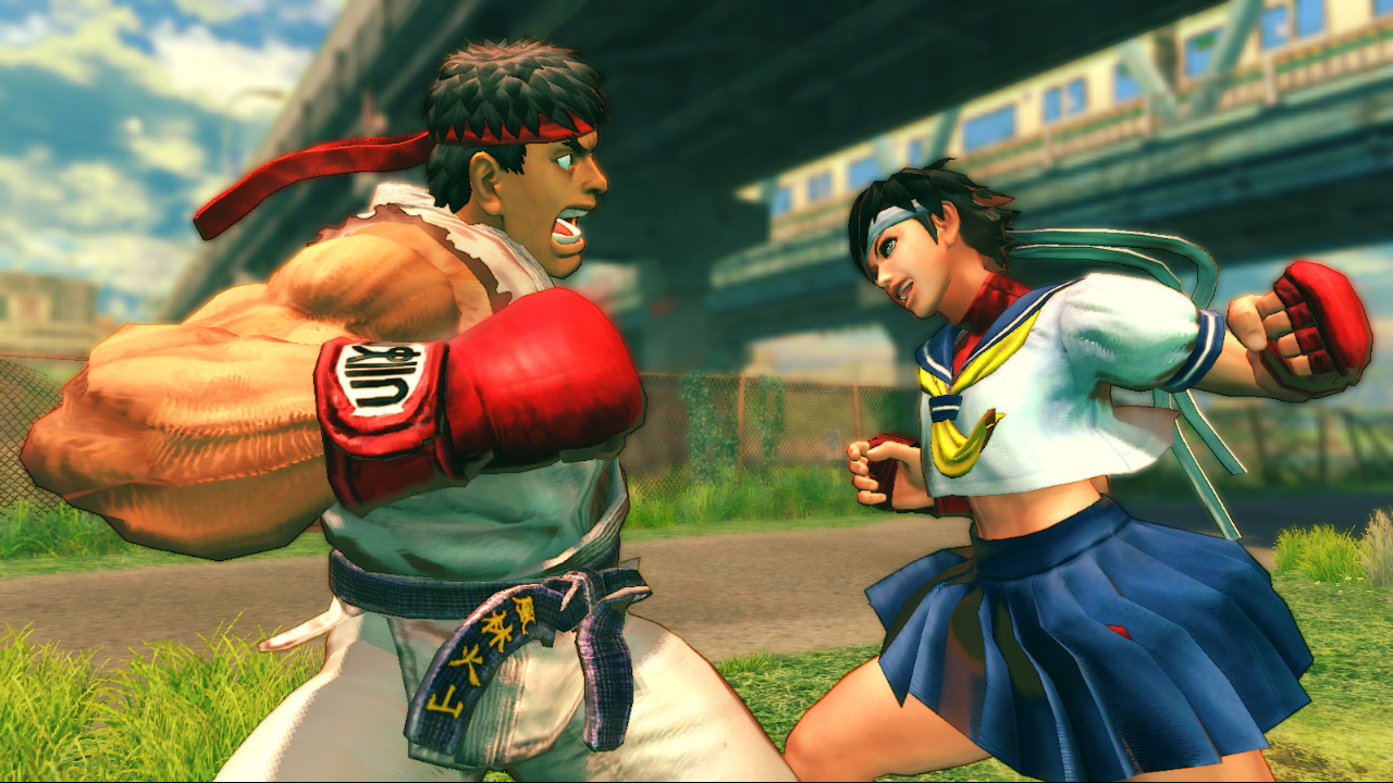 sakura street fighter IV