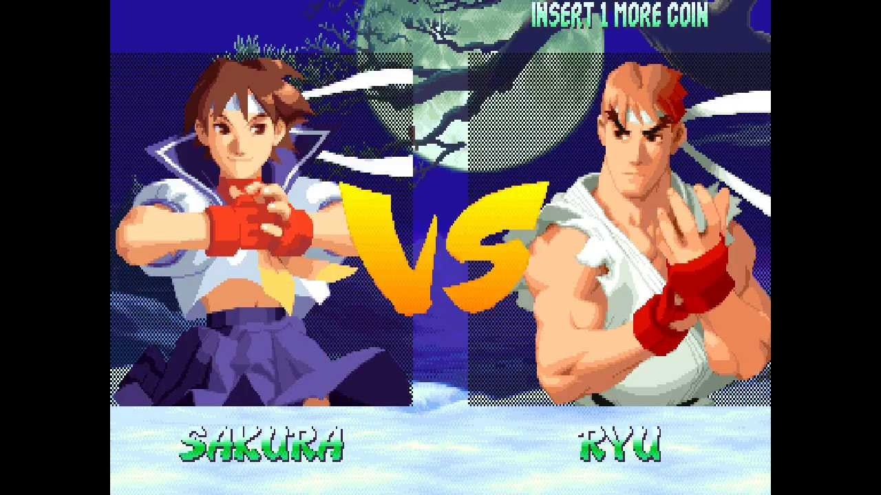 sakura street fighter alpha 2