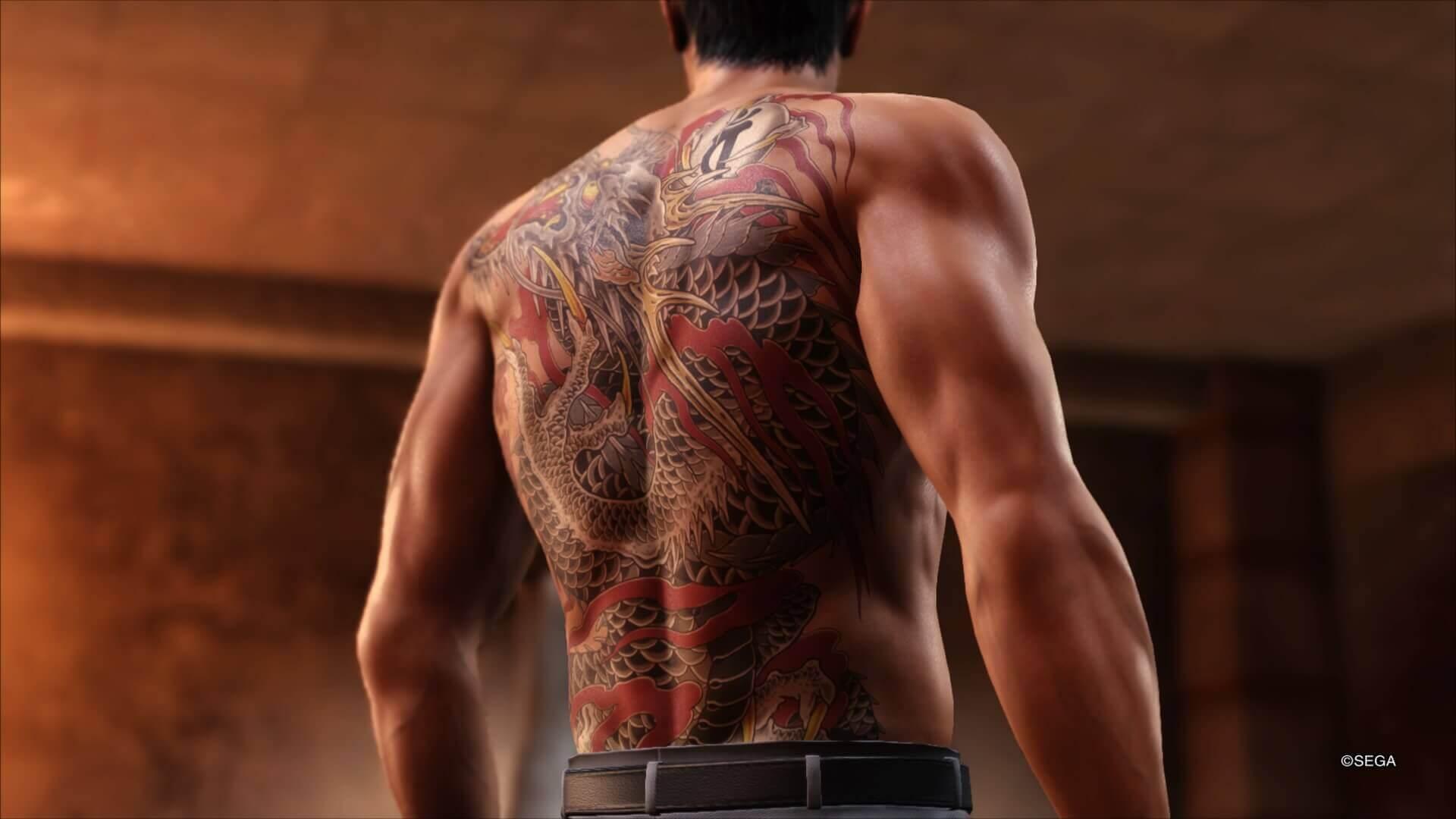 Kiryu Kazuma Tattoo: Análise: Yakuza 6 Finaliza A História De Kazuma Kiryu De