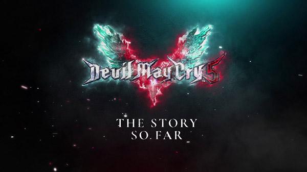 "Devil May Cry 5 recebe trailer ""Story So Far"""