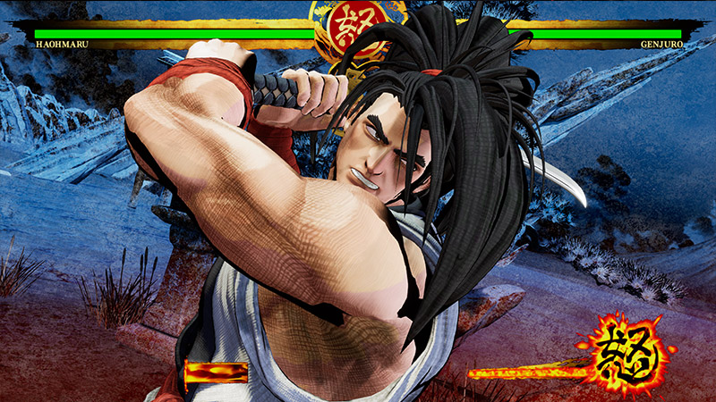 samurai shodown personagens
