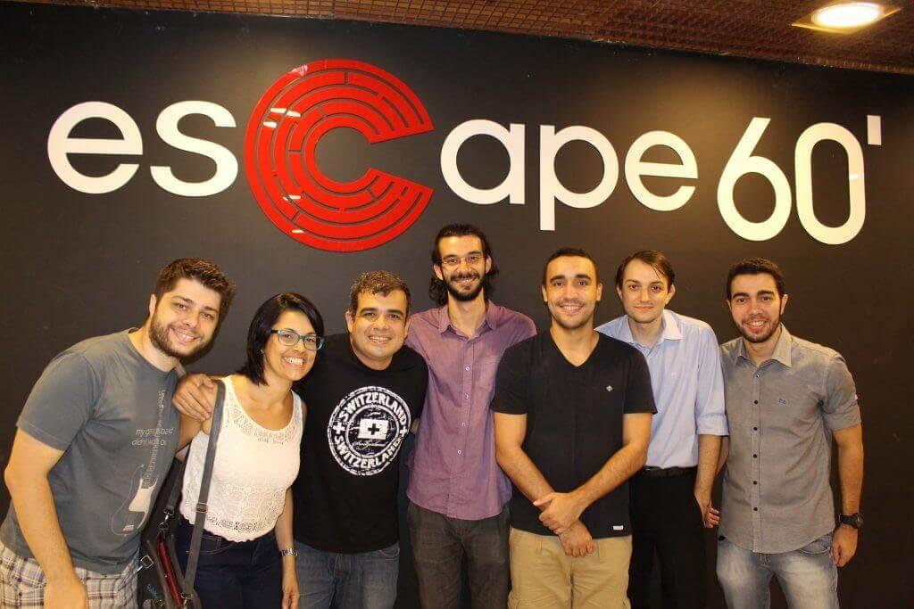 Equipe UF no Escape60' em Copacabana