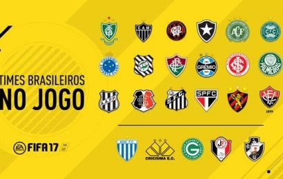 FIFA 17: Confira os times brasileiros