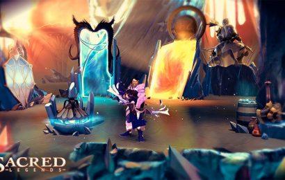 Sacred Legends já está disponível na App Store e no Google Play