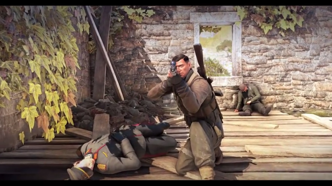 Foto de Sniper Elite 4 ganha trailer com muito sangue e morte