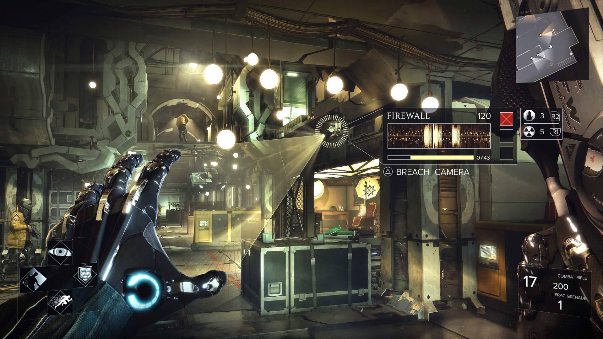 Foto de Deus Ex: Mankind Divided está entre os lançamentos do PS4 PRO