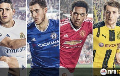 FIFA 17 alcança o topo das vendas no Japão