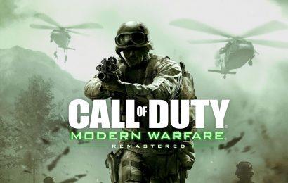 Call of Duty: Modern Warfare Remastered já pode ser jogado!