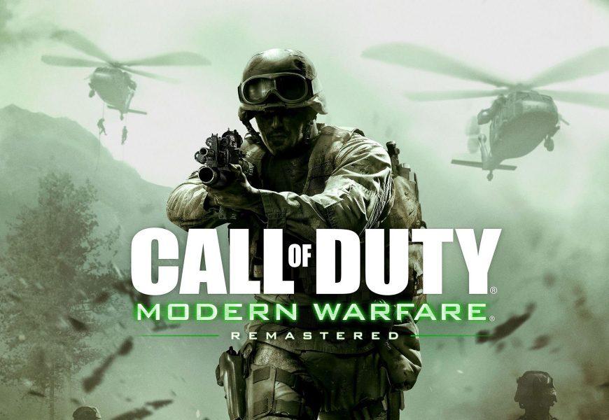 Call of Duty: Modern Warfare Remastered será lançado sozinho