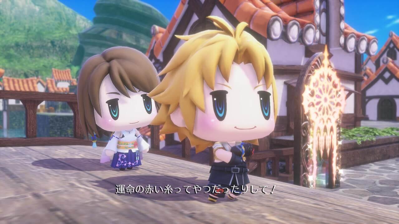 Foto de World of Final Fantasy ganhará uma demo antes de seu lançamento