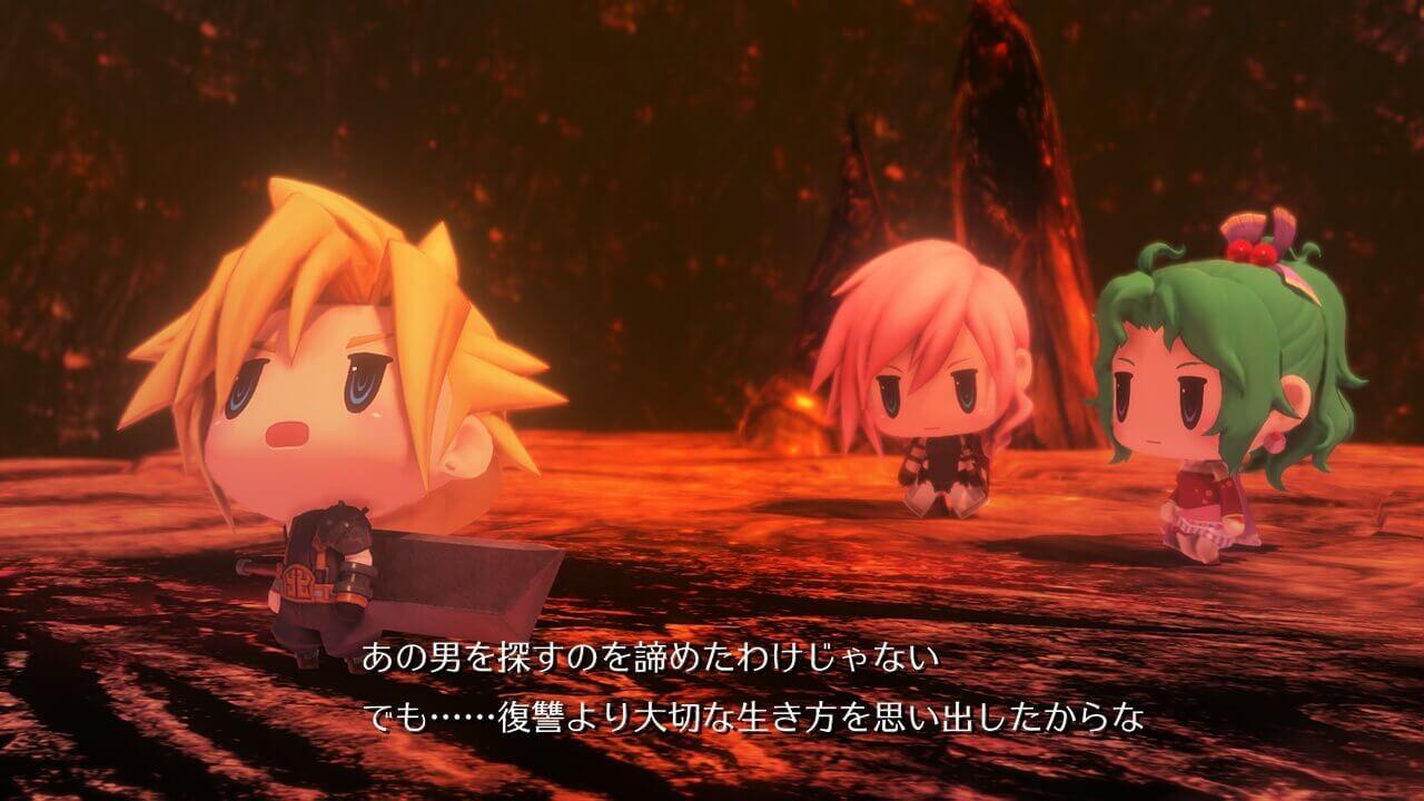 Foto de Demo de World of Final Fantasy é confirmado para o Ocidente