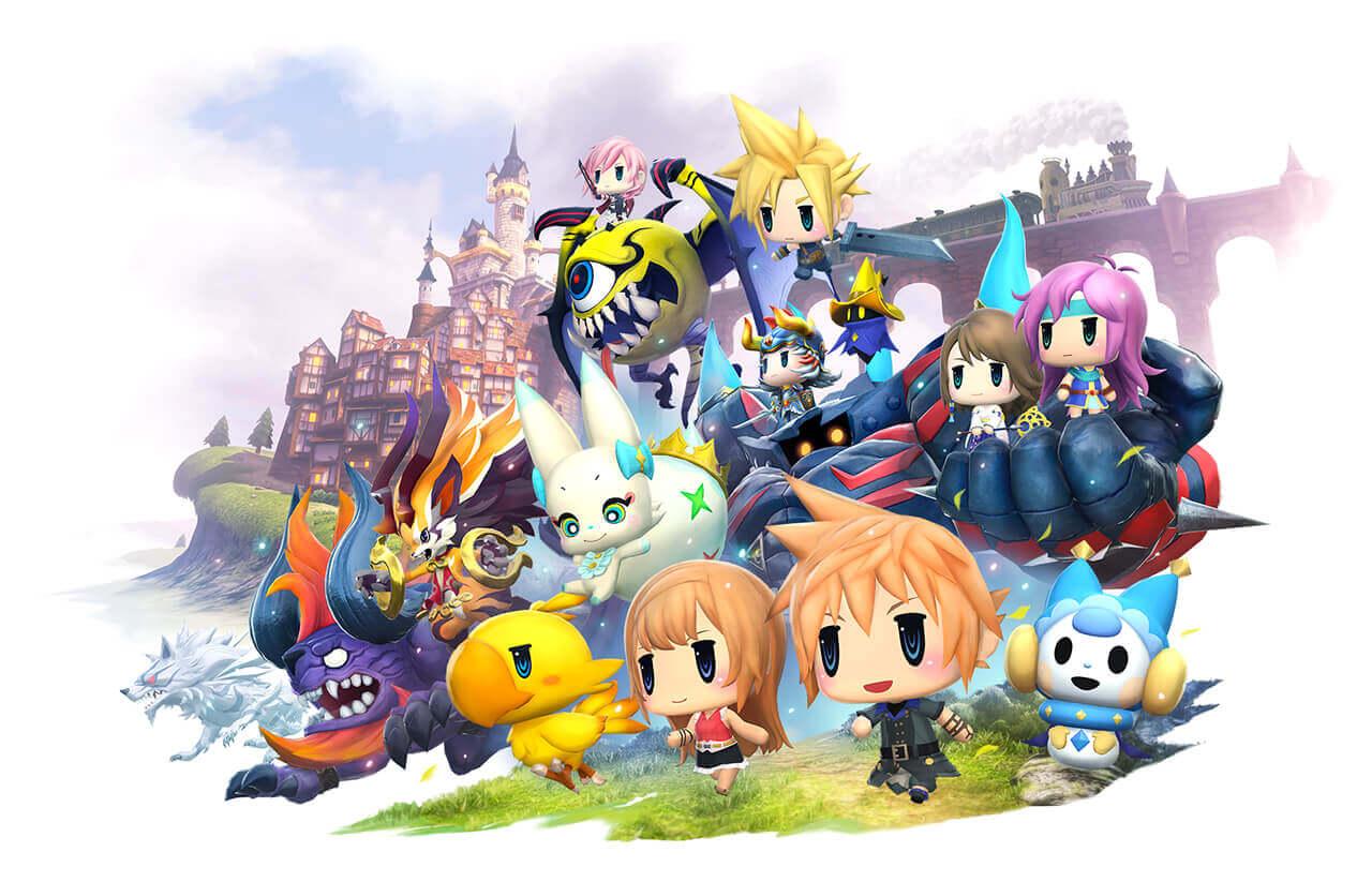 Foto de World of Final Fantasy chegará a Steam agora em Novembro