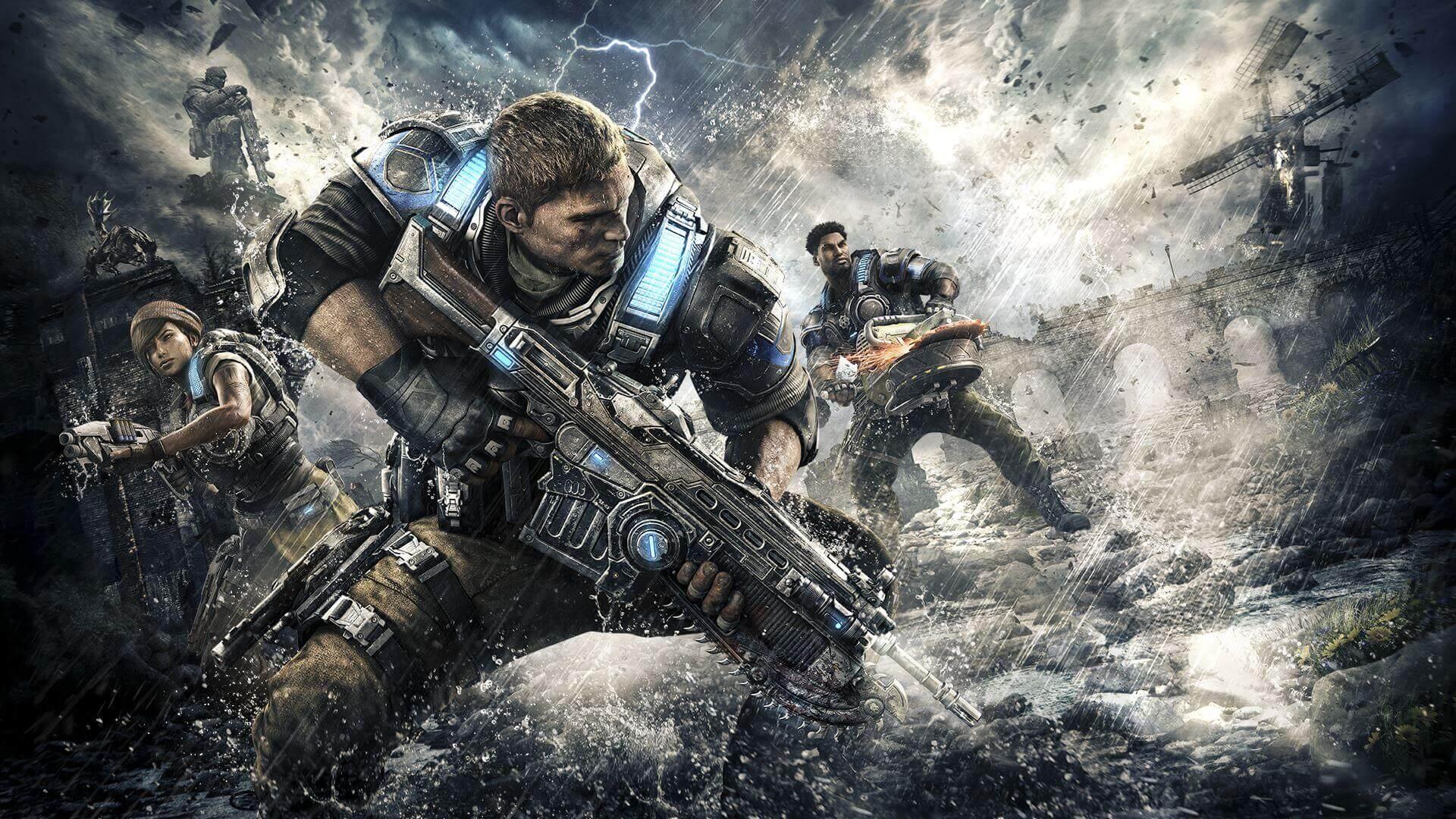 Foto de Novo rumor aponta três novos jogos de Gears of War para o Xbox One