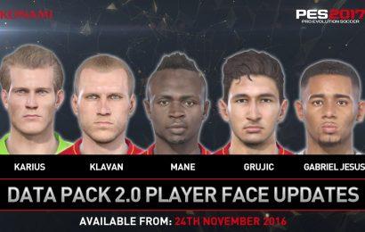 Vazam imagens com alguns rostos que virão na DLC 2.0 de PES 2017