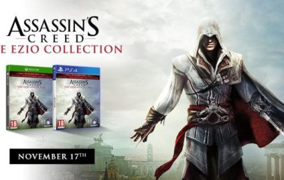 Assassin's Creed The Ezio Collection ganha um comparativo da versão PS3 e PS4