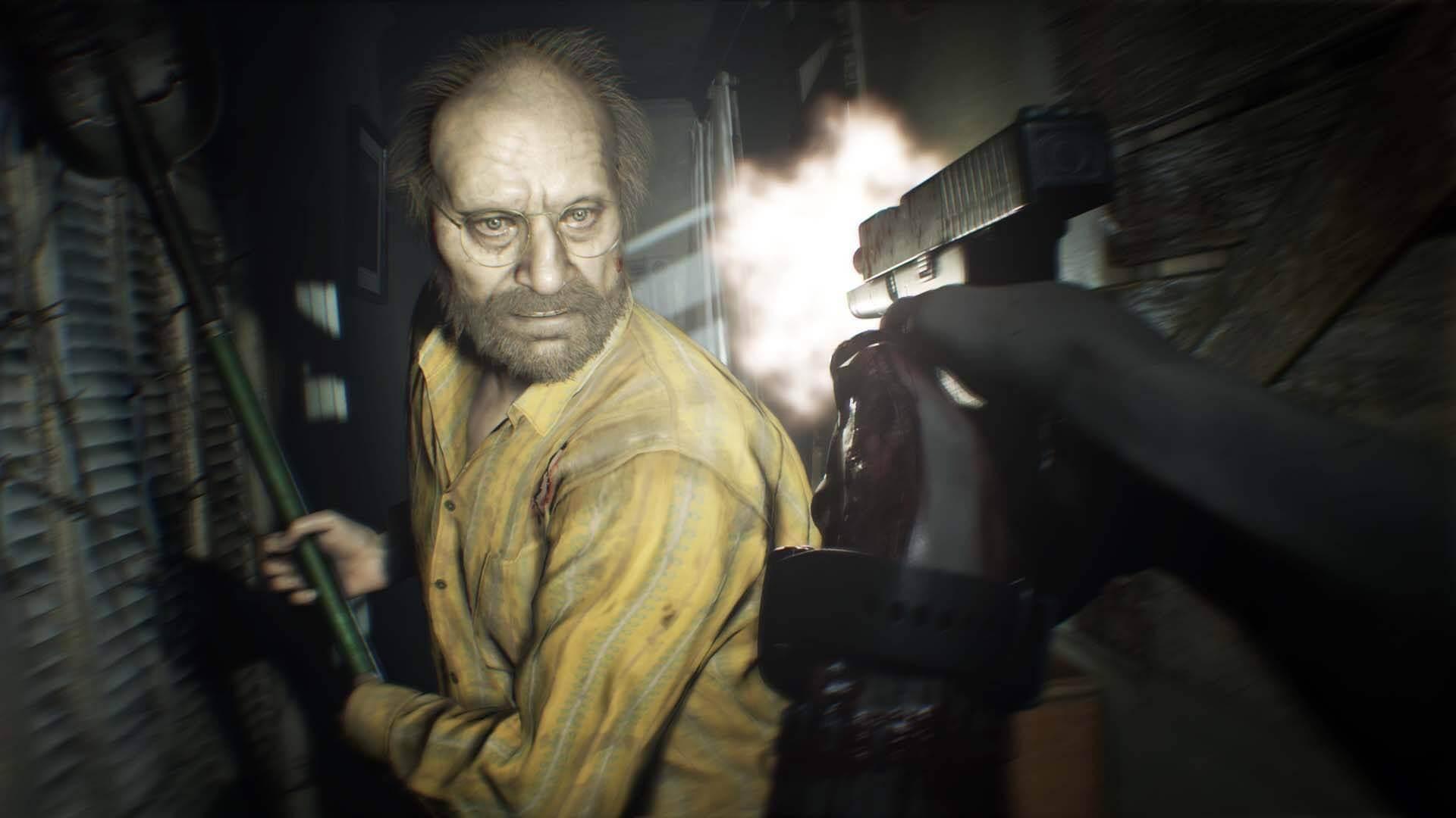 Foto de Mod de Resident Evil 7 adiciona câmera fixa!