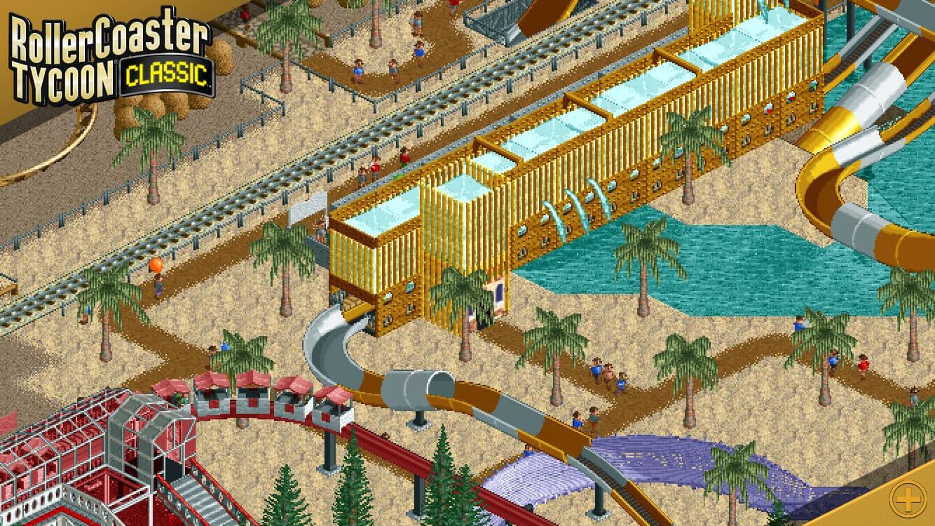 Foto de Primeiros dois jogos da série RollerCoaster Tycoon chegam ao Android e iOS