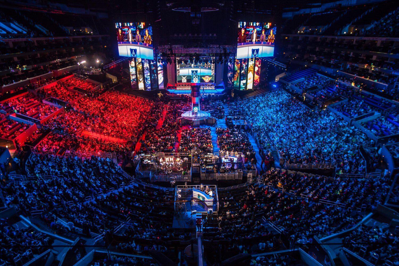 Arena do mundial de LOL em 2016