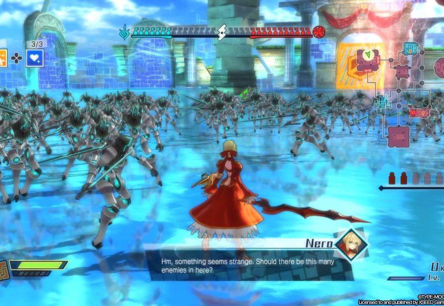 Fate/EXTELLA: The Umbral Star é lançado para Nintendo Switch e PC