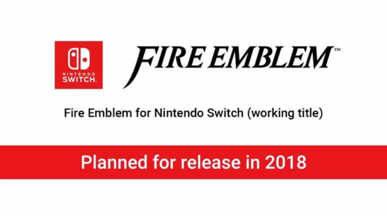 Switch ganhará um novo jogo de Fire Emblem em 2018