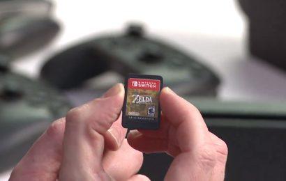 Cartão microSD necessário: Nintendo Switch tem tamanho de alguns jogos revelados.