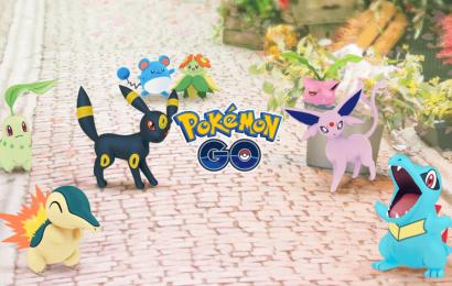 Atualização de Pokémon Go com monstros da segunda geração é liberada