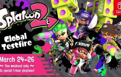 Nintendo Switch receberá Testfire de Splatoon 2 no mês de seu lançamento