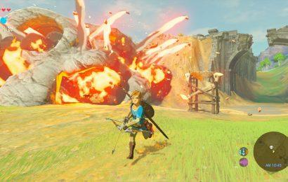 Zelda: Breath of the Wild: Nintendo libera 100 minutos de gameplay inéditos do jogo