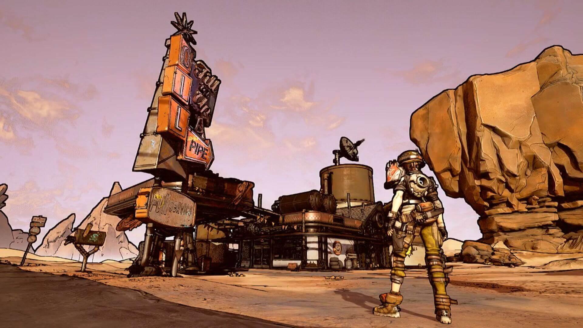 Foto de Gearbox mostra como deverá ser Boderlands 3 através de uma Tech Demo
