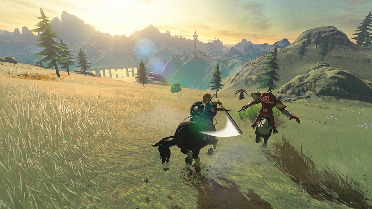 Foto de The Legend of Zelda Breath of the Wild leva o prêmio de melhor jogo do ano