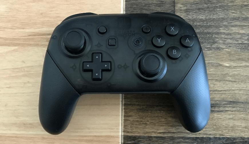 Controle Pro do Nintendo Switch guarda uma mensagem secreta