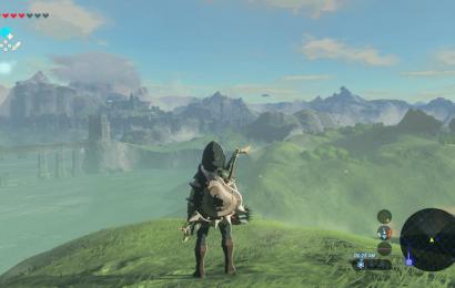 Se você estiver jogando Zelda: Breath of the Wild, desligue o minimapa