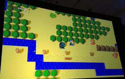 Nintendo divulga imagens de estágio inicial de desenvolvimento de Breath of the Wild