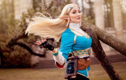 Cosplay de Zelda, Breath of the Wild, é magnifico