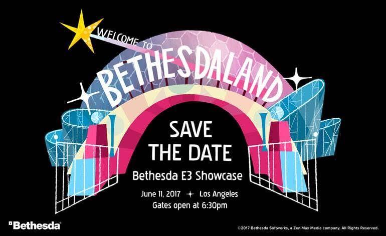 Bethesda confirmou sua conferencia da E3 para o dia 11 de Junho