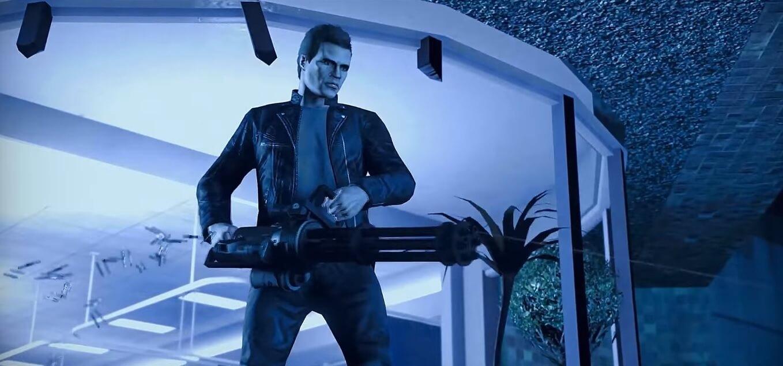 Foto de Exterminador do Futuro 2 é recriado em GTA V