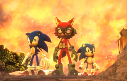 O terceiro personagem de Sonic Forces será você