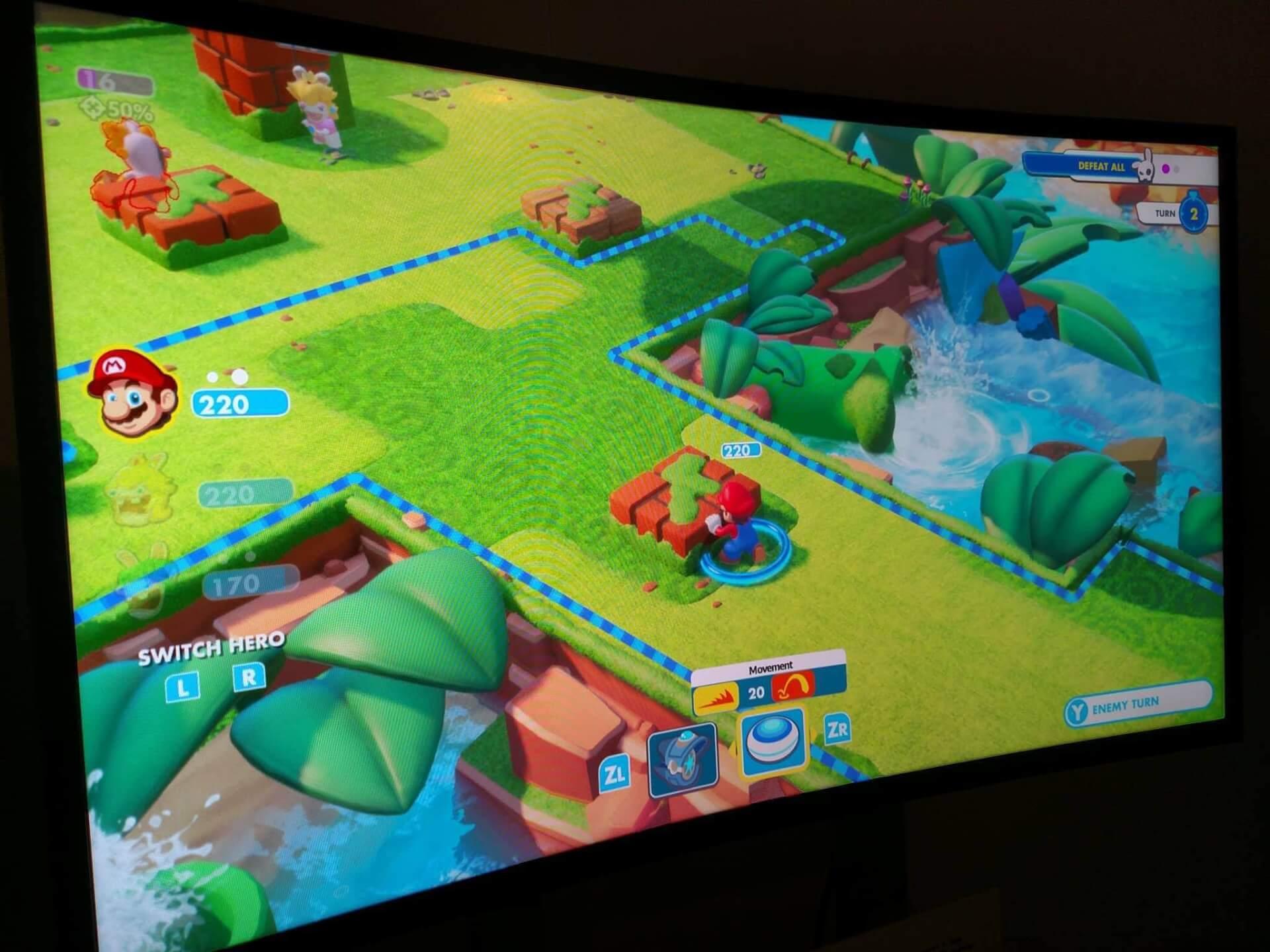 Foto de E3 2017: Mario + Rabbids Kingdom Battle é incrível em todos os aspectos