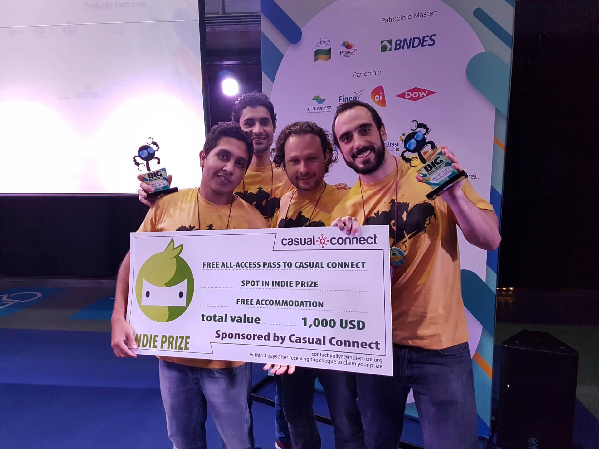 Foto de Distortions levou o prêmio de melhor jogo brasileiro do BIG Festival. Confira os vencedores da feira