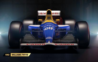 Dois carros da Williams foram confirmados no modo clássico de F1 2017