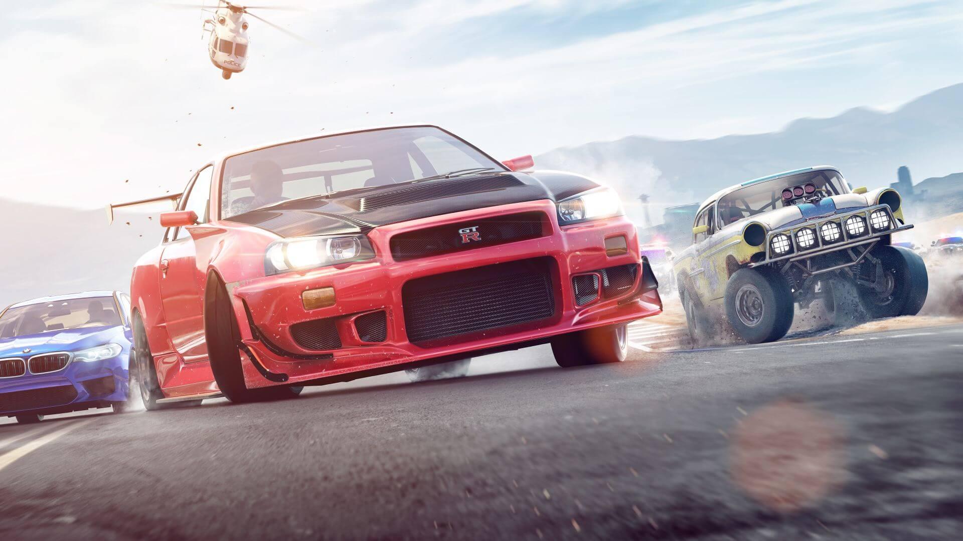 Foto de Atualização na Progressão e Patch de Need for Speed Payback