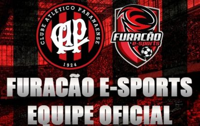 Atlético-PR lança equipe para disputar torneios de FIFA: a Furacão E-Sports