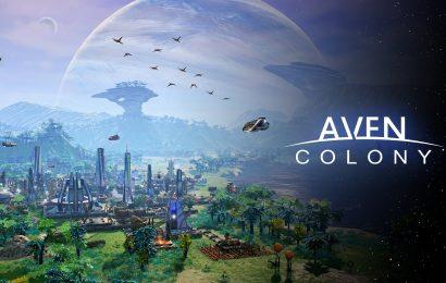 Aven Colony (RTS) chega aos consoles e PC hoje