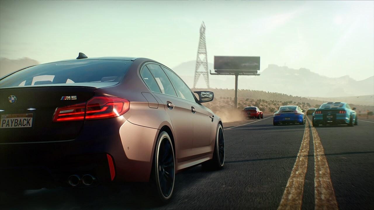 Foto de Novo trailer radical de Need For Speed Payback confirma a BMW M5 no jogo