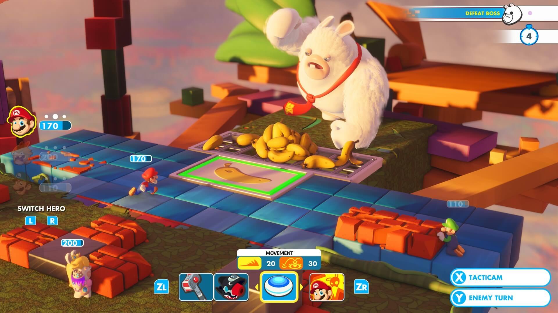 Foto de Ubisoft se posiciona sobre ausência de localização em PT-BR em Mario + Rabbids Kingdom Battle