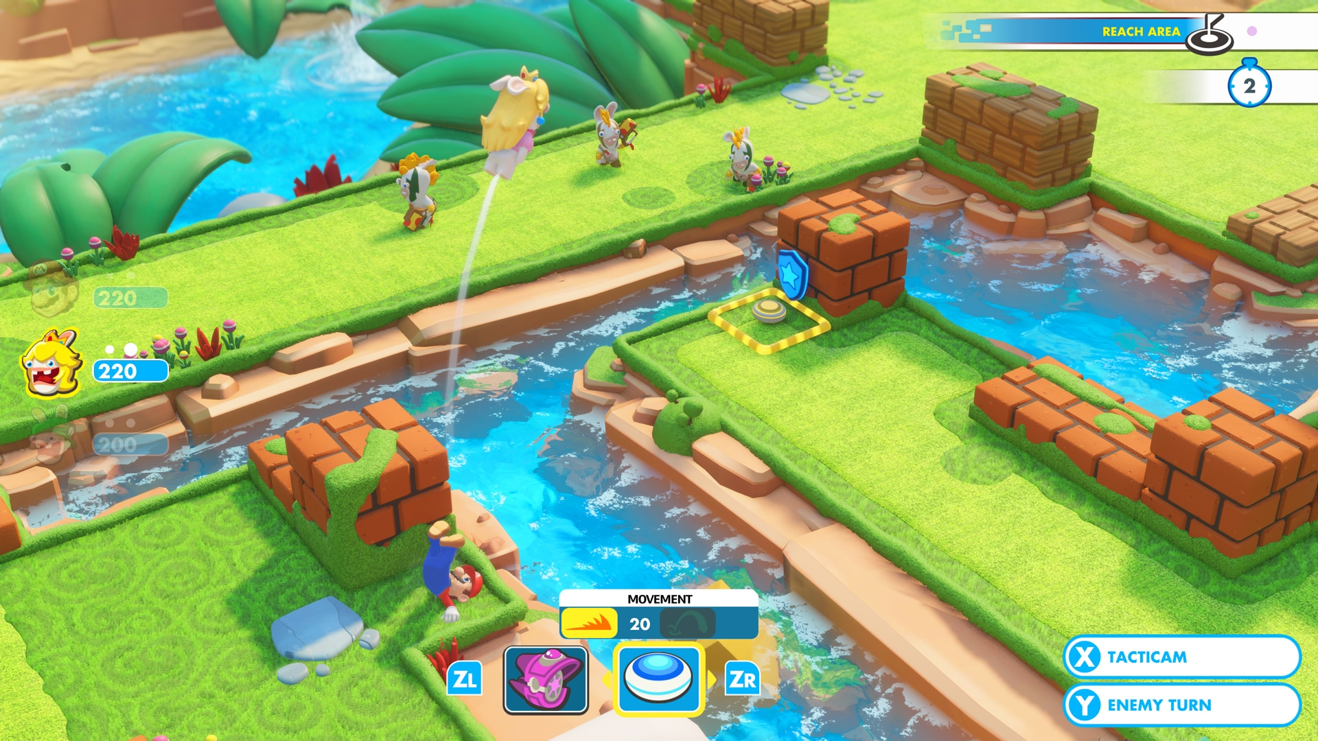 Foto de Análise: Mario + Rabbids Kingdom Battle é mais uma obra prima para Nintendo Switch