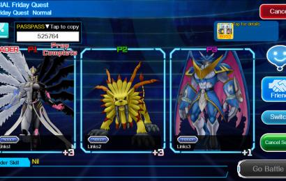 Digimon Links está disponível na App Store e Google Play