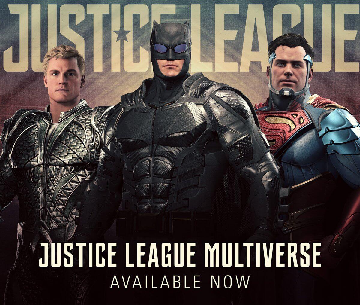 Foto de Injustice 2 recebe uniformes inspirados no filme Liga da Justiça