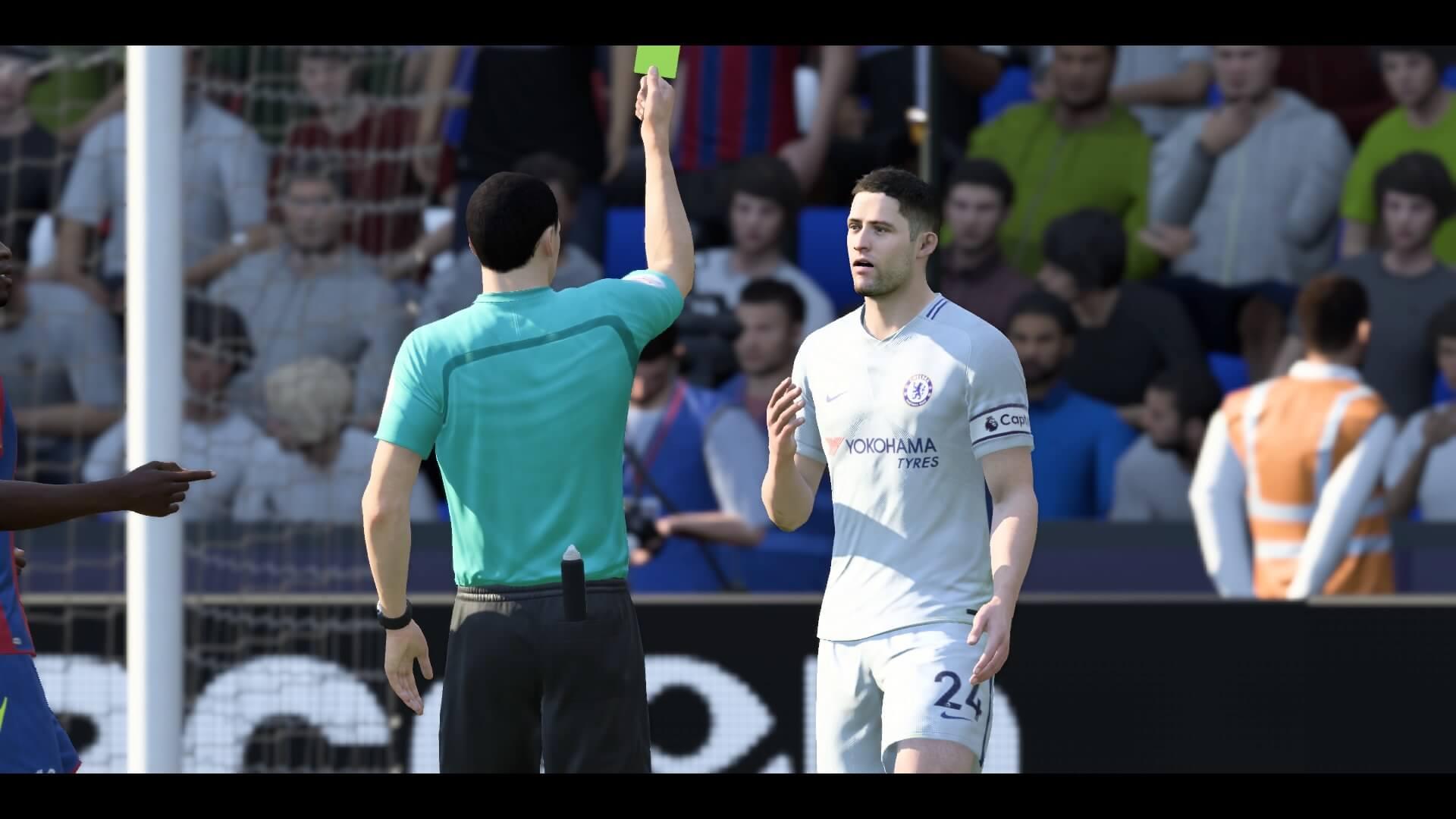 FIFA 18 Jogo Rápido 0-1 CRY X CHE, 1º tp